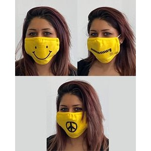 Emoji - 2 Layer Cloth Face Mask Nose Bunch