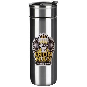 Kingston 18oz stainless steel vacuum tumbler with lid - Digital Print
